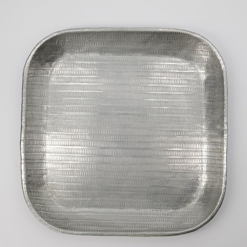 Meraki Tray, Malva, Antique silver, Handmade, Finish/Colour/Size ma