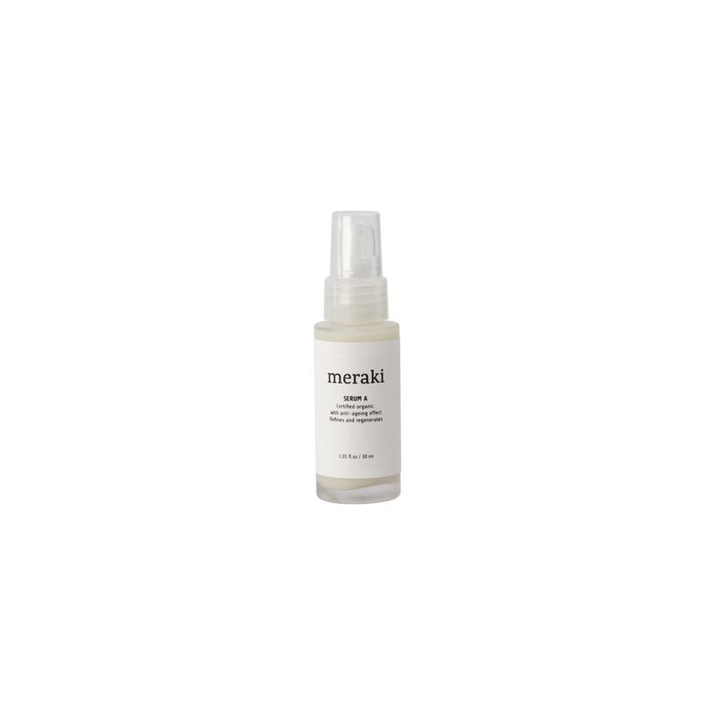 Meraki Serum A, 1.01 fl.oz/ 30 ml., Cosmos Organic