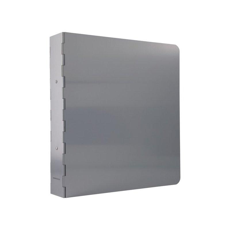 Monograph Binder, Alu, Raw aluminium