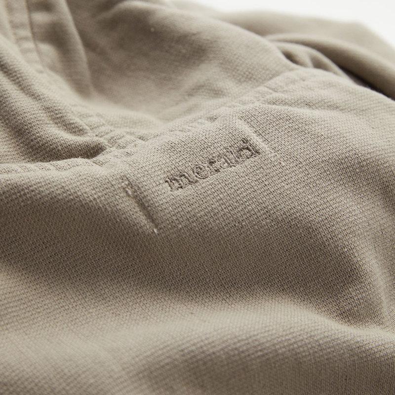 Meraki Bathrobe, Lunaria, Warm grey, One side terry, 350 gr/m2, S/M