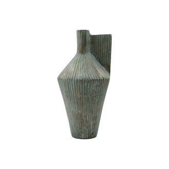 House Doctor Vase, Cleo, Antique gold, Handmade, Finish/Colour may vary