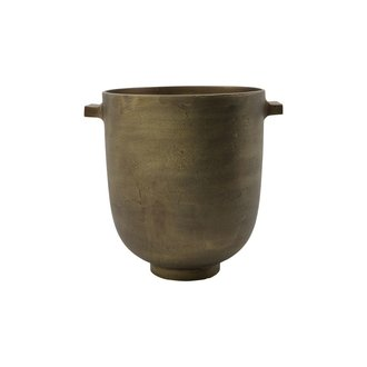 House Doctor Planter, Foem, Antique brass, Finish/Colour may vary