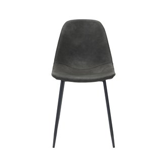 House Doctor Chair, Found, Antique grey, Seat height: 46  cm