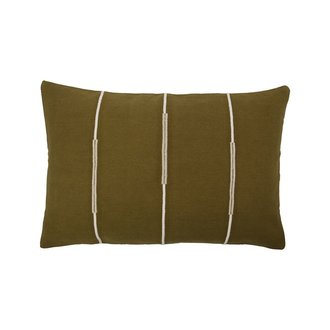 House Doctor Cushion cover, Indi, Olive green