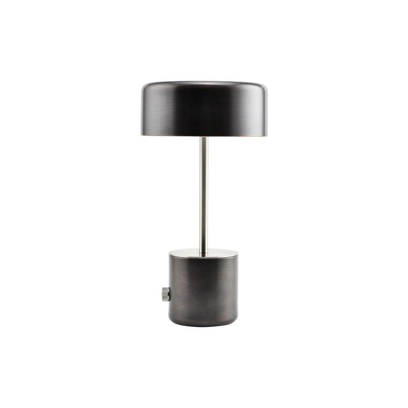 House Doctor Tafellamp, Bring, Zwart antiek