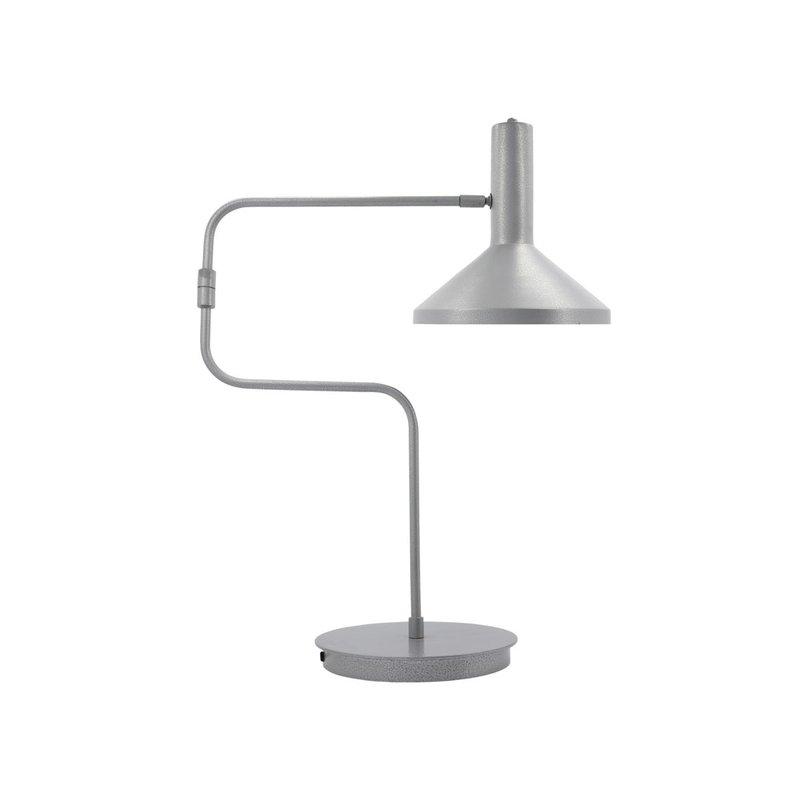 Monograph Tafellamp, Desk, Geborsteld zilver