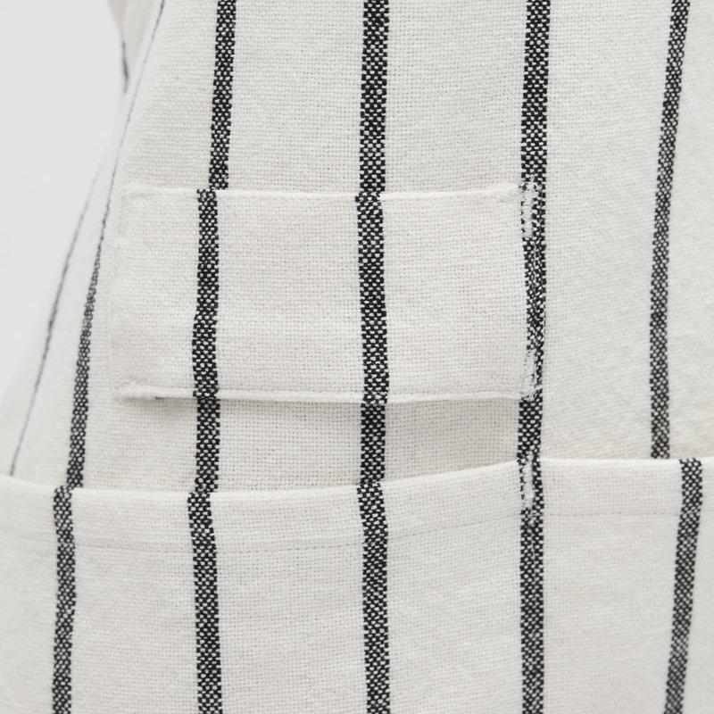 House Doctor Schort, Dry, Wit met zwarte streep