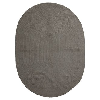 House Doctor Rug, Tindre, Olive green, Handmade, Finish/Colour/Size may v