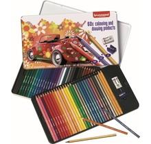 Kleurpotloden Bruynzeel Super 60 stuks
