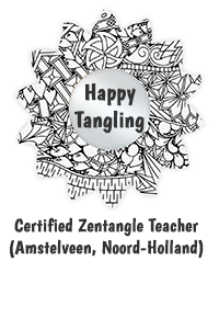 Certified Zentangle Teacher Happy Tangling
