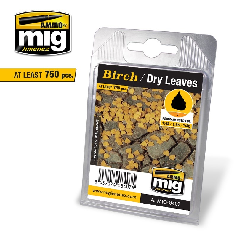 Ammo by Mig Jimenez Birch - Dry Leaves - A.MIG-8407