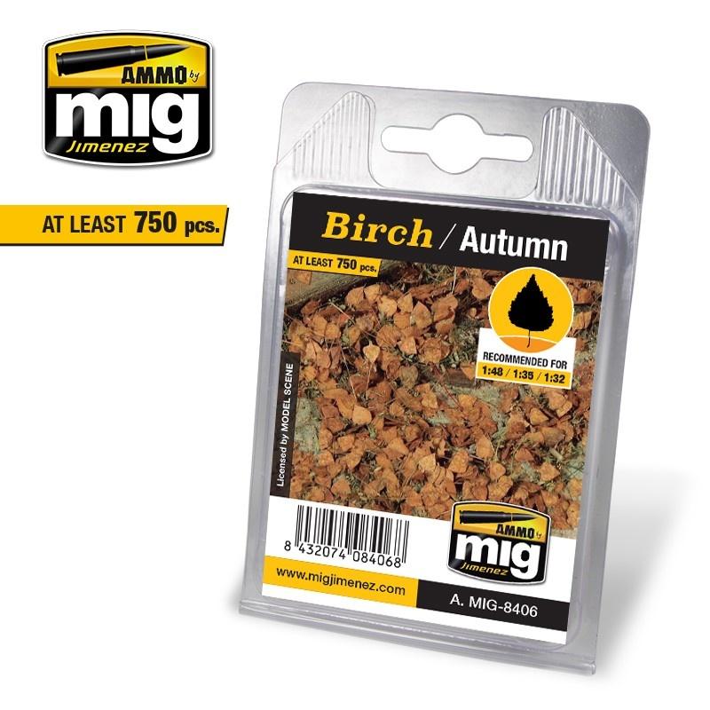 Ammo by Mig Jimenez Birch - Autumn - A.MIG-8406
