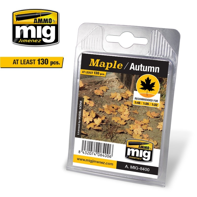 Ammo by Mig Jimenez Maple - Autumn - A.MIG-8400