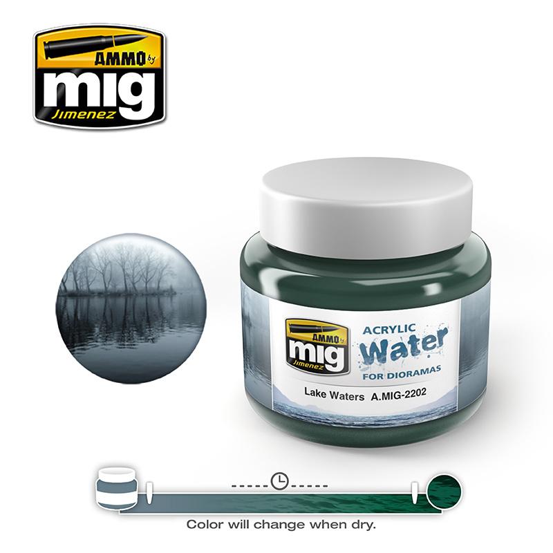 Ammo by Mig Jimenez Lake Waters - 250ml - A.MIG-2202