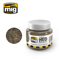 Turned Earth Ground - 250ml - A.MIG-2103