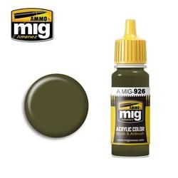 Olive Drab Base - 17ml - A.MIG-0926
