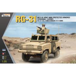 RG-31 MK3 US ARMY - Scale 1/35 - Kinetic - KIN61012