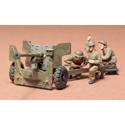 British 6-Pound Gun - Scale 1/35 - Tamiya - TAM35005