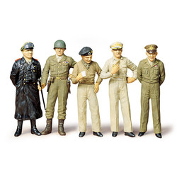 Famous Generals (5 Figures) ** - Scale 1/35 - Tamiya - TAM35118