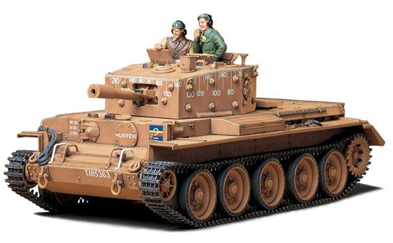 Tamiya Centaur C.S. Mk.Iv British Cruiser Tank Mk.VIII, A27L - Scale 1/35 - Tamiya - TAM35232