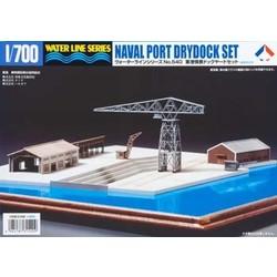 Naval Port Drydock - Scale 1/700 - Tamiya - TAM31540
