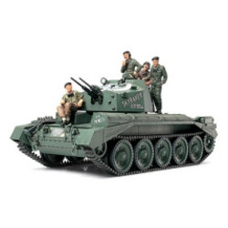 British Crusader Mk III Anti-Aircraft Tank - Scale 1/48 - Tamiya - TAM32546