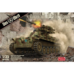 """Borgward IV Panzerjäger """"Wanze"""" - Scale 1/35 - Das Werk - DW35008"""