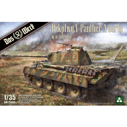 Pzkpfwg. V Panther A early - Scale 1/35 - Das Werk - DW35009