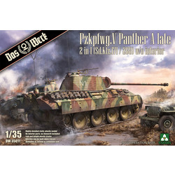 Pzkpfwg. V Panther A late 2 in 1 (Sd.Kfz.171/268) - Scale 1/35 - Das Werk - DW35011
