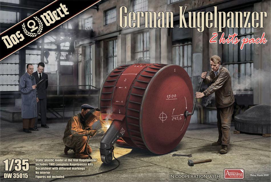 Das Werk German Kugelpanzer - Scale 1/35 - Das Werk - DW35015