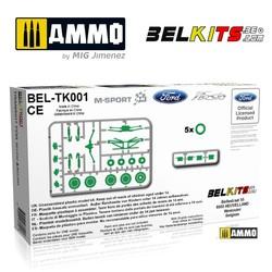 Transford Fiesta S2000/Wrc - Scale 1/24 - Belkits - BELTK001