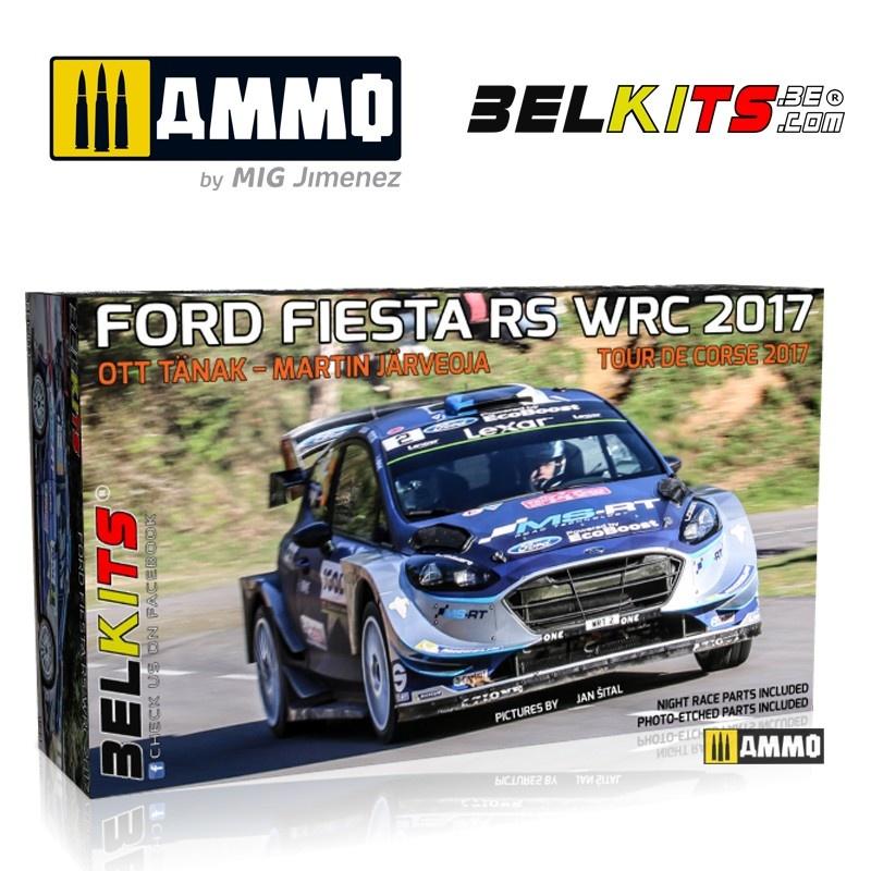 Belkits Ford Fiesta Tour De Corse  2017 - Scale 1/24 - Belkits - BEL013
