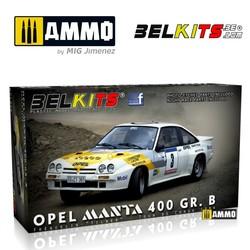 Opel Manta 400 Corse 1984 - Scale 1/24 - Belkits - BEL008