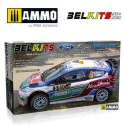 Ford Fiesta Wrc - Scale 1/24 - Belkits - BEL003