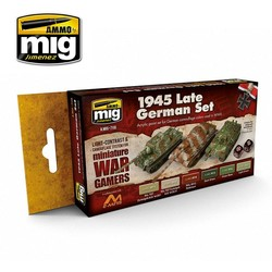 Wargame Paint Sets - Wargame 1945 Late German Set - A.MIG-7118