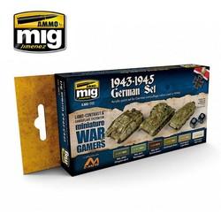 Wargame Paint Sets - Wargame 1943-1945 German Set - A.MIG-7117