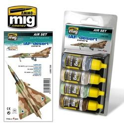 Aircraft Paint Sets - IAF Desert Colors - A.MIG-7200