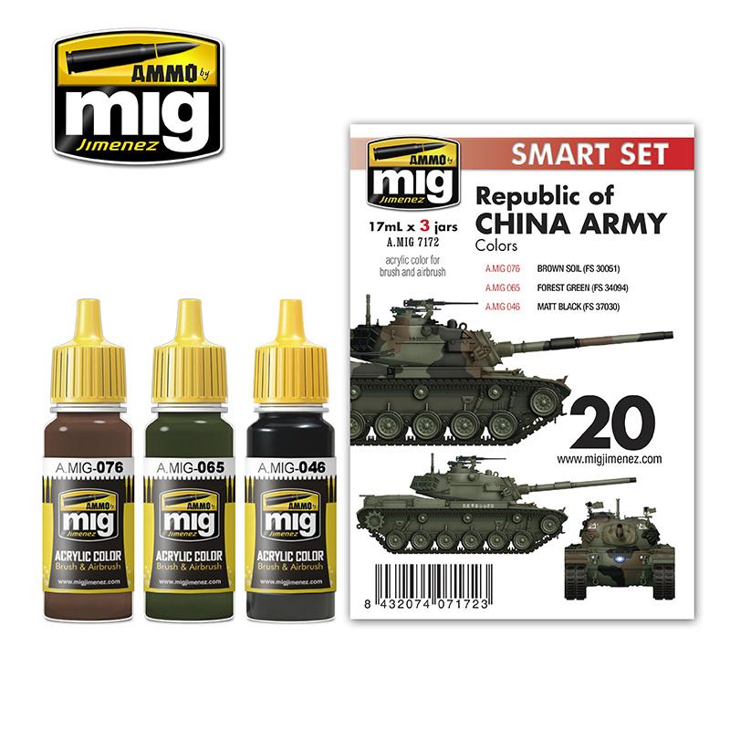 Ammo by Mig Jimenez M48H Roca (Republic Of China Army) - A.MIG-7172