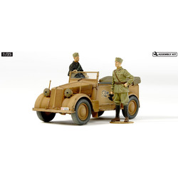508cm Coloniale German Staff Car - Scale 1/35 - Tamiya - TAM37014