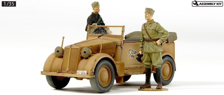 Tamiya 508cm Coloniale German Staff Car - Scale 1/35 - Tamiya - TAM37014