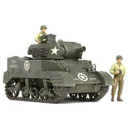 Us Howitzer Motor Carriage M8 - Awaiting Orders - Scale 1/35 - Tamiya - TAM35312
