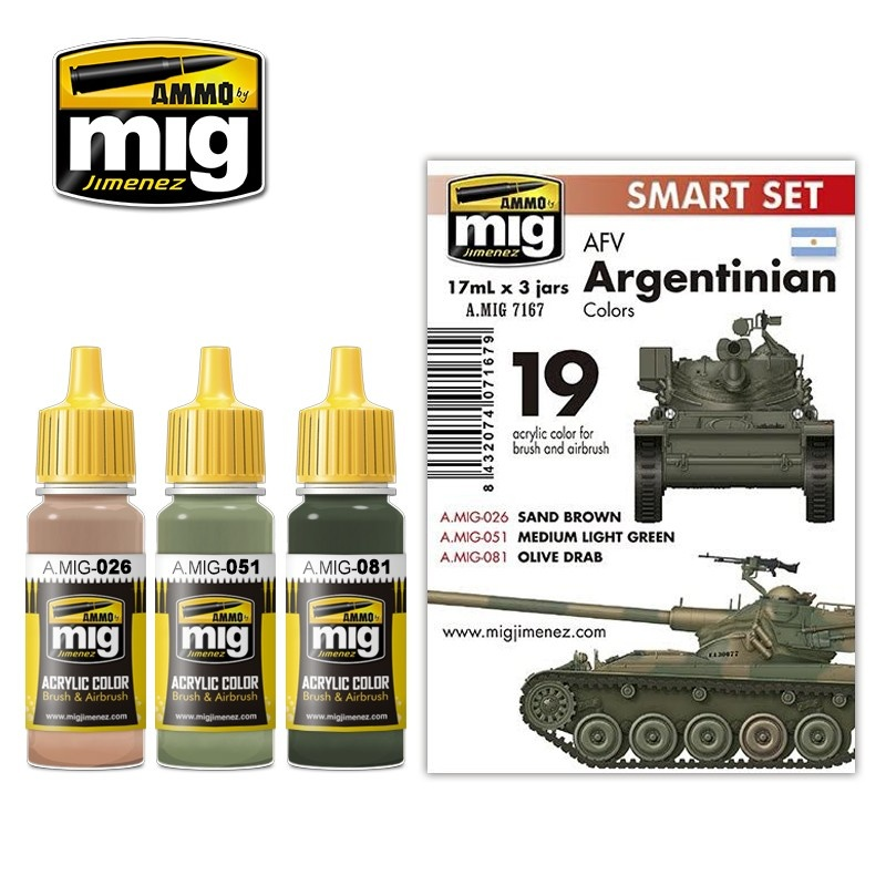 Ammo by Mig Jimenez Afv Argentinian Colors - A.MIG-7167