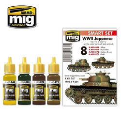 WW II Japanese Afv Early Colors - A.MIG-7137