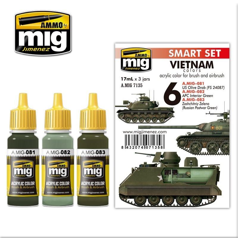 Ammo by Mig Jimenez Vietnam Colors - A.MIG-7135