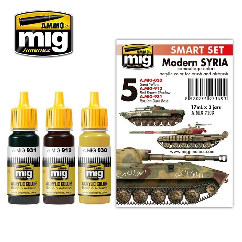 Ammo by Mig Jimenez Modern Syrian Camouflage - A.MIG-7103