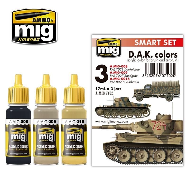 Ammo by Mig Jimenez Afrika Korps - A.MIG-7102