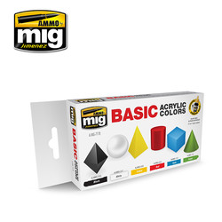 Basic Acrylic Colors - A.MIG-7178