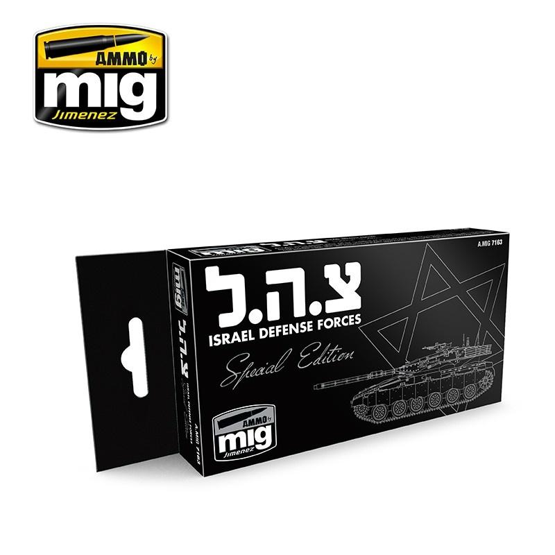Ammo by Mig Jimenez Israel Defense Forces Special Edition - A.MIG-7163