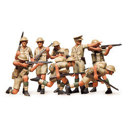 British Eighth Army Infantry - Desert - Scale 1/35 - Tamiya - TAM35032