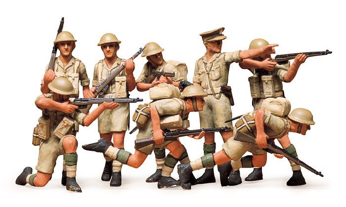 Tamiya British Eighth Army Infantry - Desert - Scale 1/35 - Tamiya - TAM35032